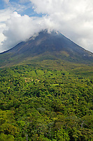 Arenal Volcano from near Lake Arenal, Costa Rica