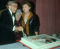 George Burns, Estelle Getty, Rue McClanahan, 1993, Photo By Michael Ferguson/PHOTOlink