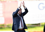 Partick Thistle v St Johnstone…10.09.16..  Firhill  SPFL<br />Tommy Wrfith appluads the fans at full time<br />Picture by Graeme Hart.<br />Copyright Perthshire Picture Agency<br />Tel: 01738 623350  Mobile: 07990 594431