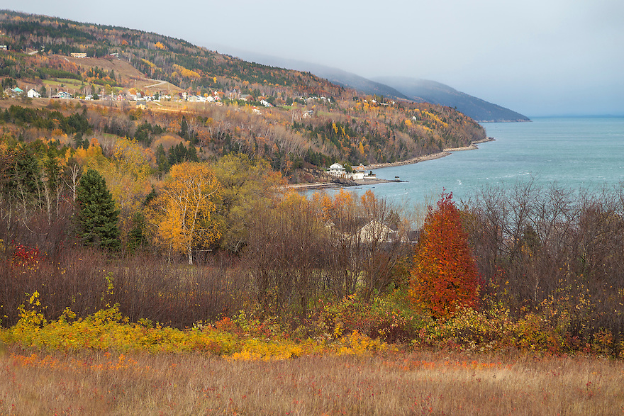 Fall in Charlevoix, Quebec.