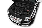 Car Stock 2017 GMC Terrain FWD-Denali 5 Door SUV Engine  high angle detail view