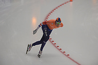 SPEEDSKATING: INZELL: Max Aicher Arena, 09-02-2019, ISU World Single Distances Speed Skating Championships, 10.000m Men, Patrick Roest (NED), ©photo Martin de Jong