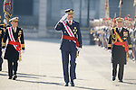 20170106. King Felipe VI and Queen Letizia at Military Easter.