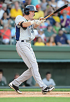 Outfielder Drew Muren (20) of the Lexington Legends, a Houston Astros affiliate, in a game against the Greenville Drive on May 2, 2012, at Fluor Field at the West End in Greenville, South Carolina. Lexington won, 4-2. (Tom Priddy/Four Seam Images)