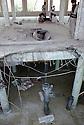 Irak 1991  Bombe chimique tombée sur la mosquée d'Halabja   Iraq 1991  A chemical bomb on Halabja's mosque