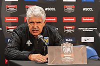 HARRISON, NJ - MARCH 11: Head coach Ricardo Ferretti of Tigres UANL during a game between Tigres UANL and NYCFC at Red Bull Arena on March 11, 2020 in Harrison, New Jersey.