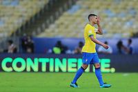 10th July 2021, Estádio do Maracanã, Rio de Janeiro, Brazil. Copa America tournament final, Argentina versus Brazil;  Thiago Silva of Brazil