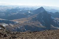 Matterhorn and Wetterhorn from the summit of Uncompahgre Peak