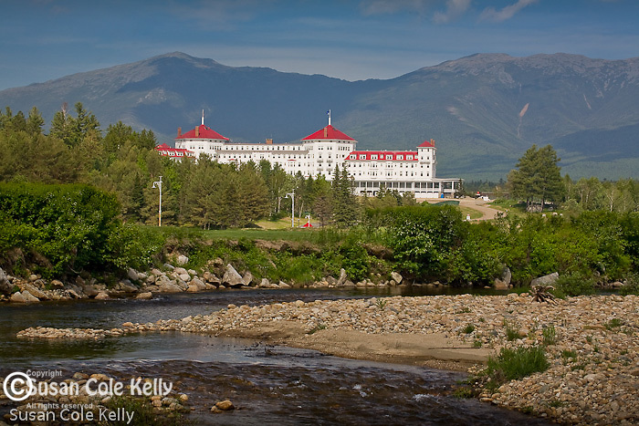 The Mount Washington Hotel at Bretton Woods, in the White Mountains, Caroll County, NH