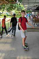 Skate Boarder at Fort Bonifacio, Manila, Philippines
