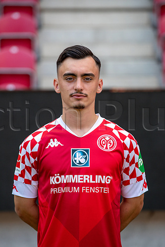 16th August 2020, Rheinland-Pfalz - Mainz, Germany: Official media day for FSC Mainz players and staff; Paul Nebel FSV Mainz 05