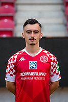 16th August 2020, Rheinland-Pfalz - Mainz, Germany: Official media day for FSC Mainz players and staff; Paul Nebel FSV Mainz 05
