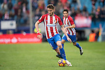 Saul Niguez Esclapez of Atletico de Madrid  runs with the ball during the match Atletico de Madrid vs Valencia CF, a La Liga match at the Estadio Vicente Calderon on 05 March 2017 in Madrid, Spain. Photo by Diego Gonzalez Souto / Power Sport Images