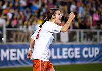Kate Norbo. UCLA advanced on penalty kicks after defeating Virginia, 1-1, in regulation time at the NCAA Women's College Cup semifinals at WakeMed Soccer Park in Cary, NC.