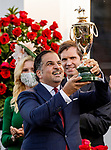 MAY 01, 2021:  Amr Zedan after winning the Kentucky Derby at Churchill Downs in Louisville, Kentucky on May 1, 2021. EversEclipse Sportswire/CSM