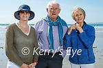 Enjoying a stroll on Banna beach on Sunday, l to r: Etna Maddock, Paud and Margaret Murphy.