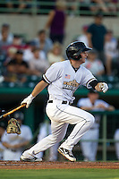 San Antonio Missions second baseman Cory Spangenberg (30) follows through on his swing in the Texas League baseball game against the Frisco Roughriders on August 22, 2013 at the Nelson Wolff Stadium in San Antonio, Texas. Frisco defeated San Antonio 2-1. (Andrew Woolley/Four Seam Images)