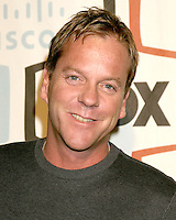 Kiefer Sutherland.Fox TV Fall Eco-Casino Party.Area .Los Angeles,  CA.September 24, 2007.©2007 Kathy Hutchins / Hutchins Photo...               .