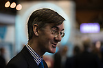 © Joel Goodman - 07973 332324 . 02/10/2017. Manchester, UK. JACOB REES-MOGG at the conference . The second day of the Conservative Party Conference at the Manchester Central Convention Centre . Photo credit : Joel Goodman