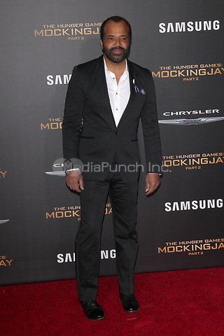 """LOS ANGELES, CA - NOVEMBER 16: Jeffrey Wright at the Premiere Of """"The Hunger Games: Mockingjay - Part 2"""" At Microsoft Theater On November 16, 2015. Credit: mpi21/MediaPunch"""