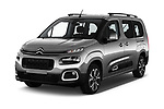 2019 Citroen Berlingo Shine 5 Door MPV angular front stock photos of front three quarter view
