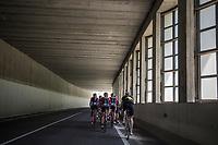 restday 3 training ride with Team Trek-Segafredo<br /> 100th Giro d'Italia 2017