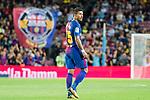 Jose Paulo Bezerra Maciel Junior, Paulinho, of FC Barcelona looks during the La Liga 2017-18 match between FC Barcelona and SD Eibar at Camp Nou on 19 September 2017 in Barcelona, Spain. Photo by Vicens Gimenez / Power Sport Images