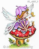 CUTE ANIMALS, LUSTIGE TIERE, ANIMALITOS DIVERTIDOS, paintings+++++,KL4567/1,#ac#, EVERYDAY Interlitho,everyday,fairy,fairies,elfs,KL2567/1,sticker,stickers