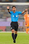 FIFA Referee Mohd Amirul Izwan of Malaysia in action during the AFC Asian Cup UAE 2019 Group F match between Oman (OMA) and Japan (JPN) at Zayed Sports City Stadium on 13 January 2019 in Abu Dhabi, United Arab Emirates. Photo by Marcio Rodrigo Machado / Power Sport Images