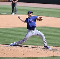 Josh Sborz - Texas Rangers 2021 spring training (Bill Mitchell)