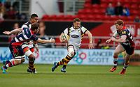 Photo: Richard Lane/Richard Lane Photography. Bristol Rugby v Wasps. Aviva Premiership. 16/04/2017. Wasps' Jimmy Gopperth attacks.