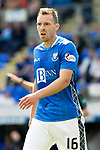 St Johnstone FC Season 2018-19…  McDiarmid Park    <br />David McMillan<br />Picture by Graeme Hart. <br />Copyright Perthshire Picture Agency<br />Tel: 01738 623350  Mobile: 07990 594431