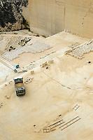Steinbruch für Globigerinenkalkstein bei San Lawrenz auf Gozo, Malta, Europa