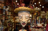 Una maschera in vetrina in un negozio di Venezia.<br /> A mask displayed at a window shop in Venice.<br /> UPDATE IMAGES PRESS/Riccardo De Luca