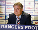 14.05.2018 Mark Allen, Rangers director of Football