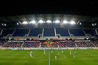 Harrison, NJ - Wednesday Feb. 22, 2017: Red Bull Arena  during a Scotiabank CONCACAF Champions League quarterfinal match between the New York Red Bulls and the Vancouver Whitecaps FC at Red Bull Arena.