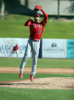 "Shohei Ohtani pitches for the Los Angeles Angels in a spring training ""B"" game against the Milwaukee Brewers at Maryvale Stadium on March 2, 2018 in Phoenix, Arizonai (Bill Mitchell)"