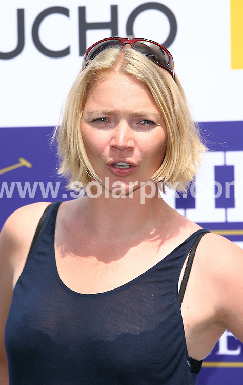 **ALL ROUND PICTURES FROM SOLARPIX.COM**.**WORLDWIDE SYNDICATION RIGHTS**.Jodie Kidd and Jack Kidd arrive at the MINT Polo In The Park at The Hurlingham Park in London, UK. 4 June 2010. . .This pic: Jodie Kidd..JOB REF: 11394 LNJ     DATE: 04_06_2010.**MUST CREDIT SOLARPIX.COM OR DOUBLE FEE WILL BE CHARGED**.**MUST NOTIFY SOLARPIX OF ONLINE USAGE**.**CALL US ON: +34 952 811 768 or LOW RATE FROM UK 0844 617 7637**
