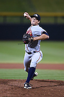 Peoria Javelinas pitcher Ryne Harper (39) during an Arizona Fall League game against the Mesa Solar Sox on October 16, 2014 at Cubs Park in Mesa, Arizona.  Mesa defeated Peoria 6-2.  (Mike Janes/Four Seam Images)