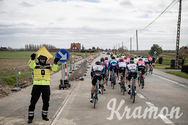 Leading bunch <br /> <br /> 83rd Gent-Wevelgem - in Flanders Fields (ME - 1.UWT)<br /> 1 day race from Ieper to Wevelgem (BEL): 254km<br /> <br /> ©kramon