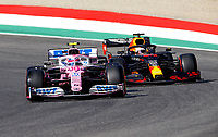 18 STROLL Lance (can), Racing Point F1 RP20, VERSTAPPEN Max (ned), Aston Martin Red Bull Racing Honda RB16, action during the Formula 1 Pirelli Gran Premio Della Toscana Ferrari 1000, 2020 Tuscan Grand Prix, from September 11 to 13, 2020 on the Autodromo Internazionale del Mugello, in Scarperia e San Piero, near Florence, Italy <br /> Mugello 13-09-2020 Formula 1 Gp Toscana<br /> Photo FLORENT GOODEN/DPPI/Panoramic/Insidefoto <br /> ITALY ONLY