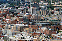 LODO Denver with Elitches; Coors Field; Union Station. Aug 20, 2014.  812850