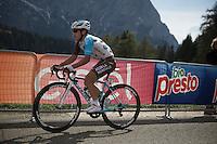 Domenico Pozzovivo (ITA/Ag2r-LaMondiale)<br /> <br /> stage 15 (iTT): Castelrotto-Alpe di Siusi 10.8km<br /> 99th Giro d'Italia 2016