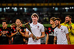 AC Milan Midfielder Riccardo Montolivo (C) celebrating with the trophy and teammates during the 2017 International Champions Cup China  match between FC Bayern and AC Milan at Universiade Sports Centre Stadium on July 22, 2017 in Shenzhen, China. Photo by Marcio Rodrigo Machado / Power Sport Images