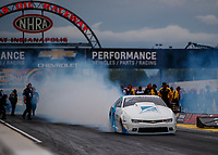 Sep 1, 2017; Clermont, IN, USA; NHRA pro stock driver Shane Tucker during qualifying for the US Nationals at Lucas Oil Raceway. Mandatory Credit: Mark J. Rebilas-USA TODAY Sports