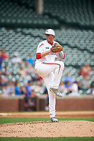 Mitchell Stone (20) of Deer Creek High School in Edmond, Oklahoma during the Under Armour All-American Game presented by Baseball Factory on July 23, 2016 at Wrigley Field in Chicago, Illinois.  (Mike Janes/Four Seam Images)