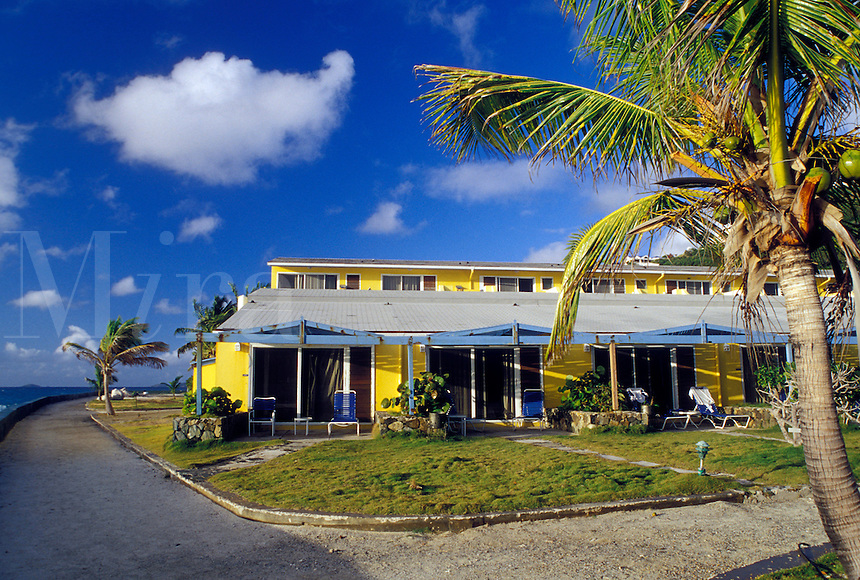 Tortola, British Virgin Islands, Road Town, Caribbean, BVI, Prospect Reef Resort in Road Town on the island of Tortola on the Caribbean Sea.