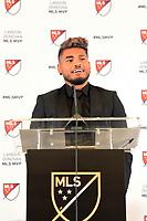 Atlanta, Georgia - Wednesday, December 5, 2018. Atlanta United forward Josef Martinez was given the Major League Soccer 2018 Landon Donovan Most Valuable Player Award, announced today by the league office.