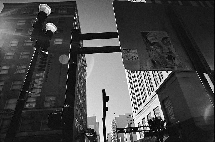 "DWNTWN<br /> From ""Walking Downtown"" series. Miami, FL, 2008"