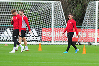 Connor Roberts of Wales during the Wales Training Session at The Vale Resort in Cardiff, Wales, UK. Saturday 12 October 2019